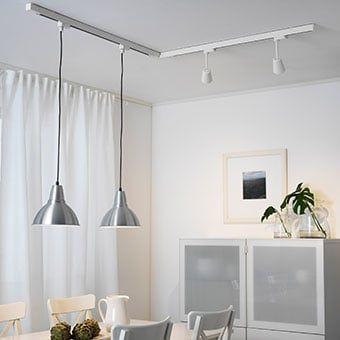 Skeninge Foto 2 Schienen Led Beleuchtung Beleuchtung Kuchendeckenleuchten Wohnzimmerbeleuchtung