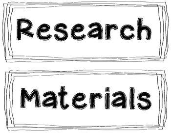 image regarding Science Fair Project Printable Headings named Science Sensible Undertaking Board Headings: Black White Labels