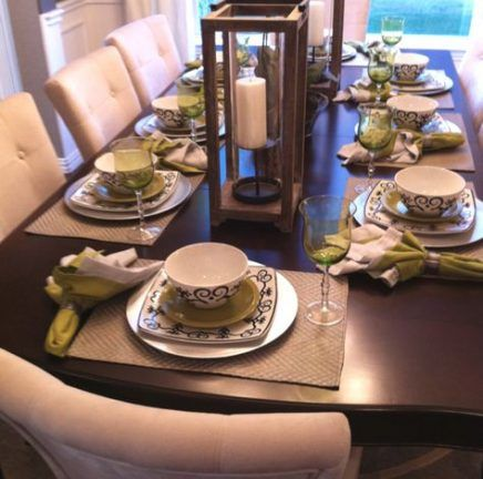 Kitchen Table Centerpiece Everyday Place Settings 37 New Ideas Table Settings Everyday Table Centerpieces For Home Dining Room Table Centerpieces