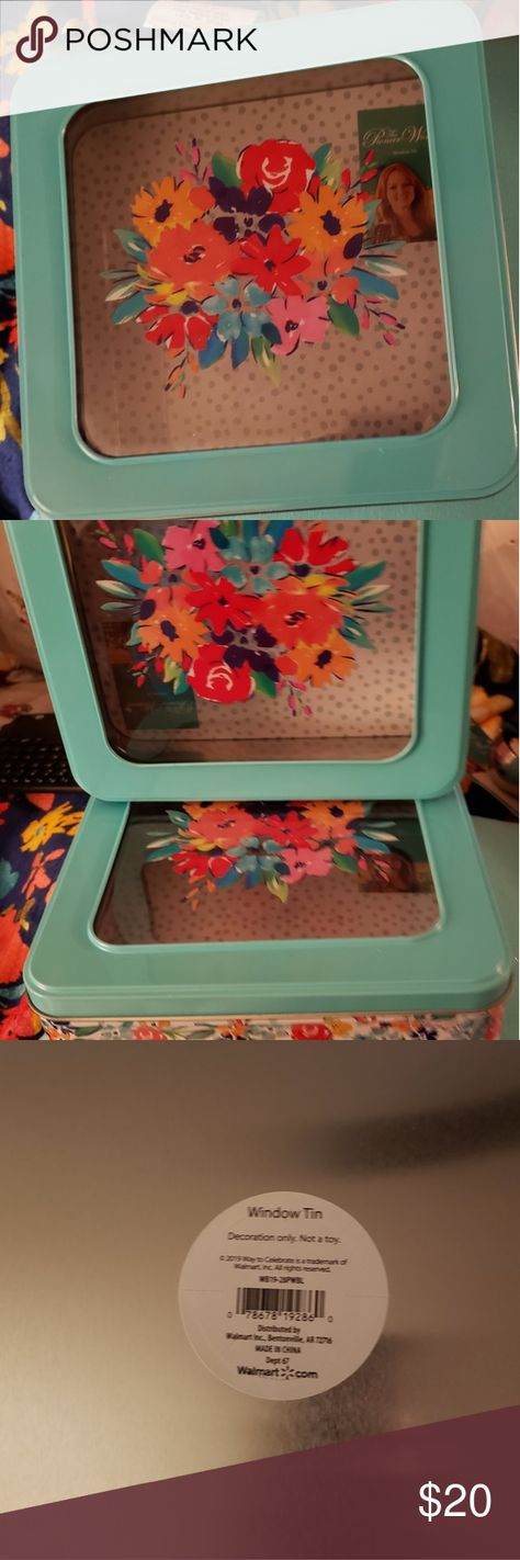 Pioneer Woman storage boxes These are new Pioneer Woman containers in the wildfl...#boxes #containers #pioneer #storage #wildfl #woman