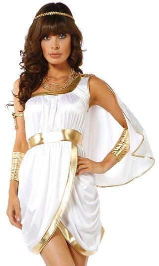 740d4d77f Women s Goddess   Gladiator Costumes