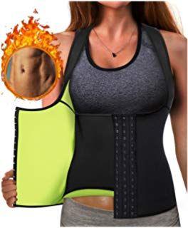 Waist Trainer Corset for Weight Loss Sauna Slim Vest for Women Workout Neoprene Sweat Vest Body Shaping Vest