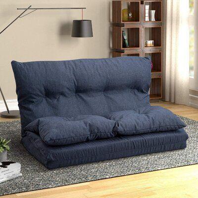 Ebern Designs Adjustable Fabric Folding Chaise Lounge Sofa Chair Floor Couch Wayfair In 2020 Floor Couch Chaise Lounge Sofa Gaming Sofa