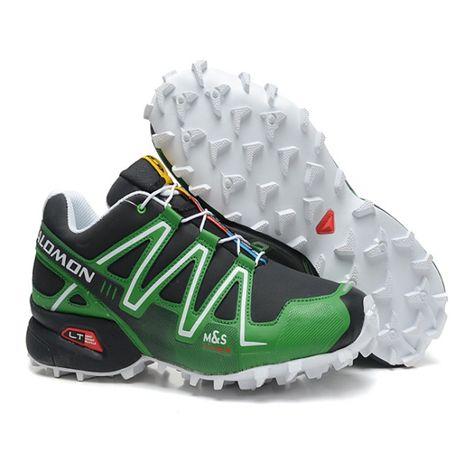 chaussure trail running homme salomon speedcross 4 noir blanco