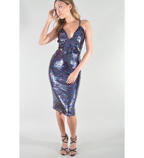 4bceecd2b7c1 #ladiesapparel #High #ladiesfashion #Low #Sequin #Wrap #womensapparel |  wishlist in 2019 | Wrap front dress, High low hem dresses, Dresses