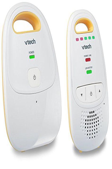 VTech DM111 Audio Baby Monitor up to 1,000 ft of Range 5-Level Sound Indicator