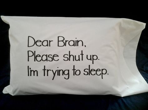 Printed words pillow case, sayings on pillow, unique bedding, funny words pillow, black and - Pillow Art Funny Throw Pillows, Cute Pillows, Funny Relatable Memes, Funny Quotes, Life Quotes, White Bedding, Teen Bedding, Bedding Sets, My New Room