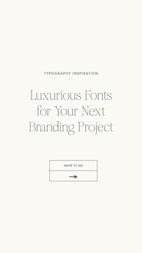 Luxurious Fonts for Your Next Sustainable Brand Project