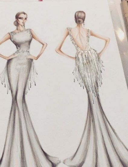 22 ideas fashion sketches dresses couture gowns for 2019