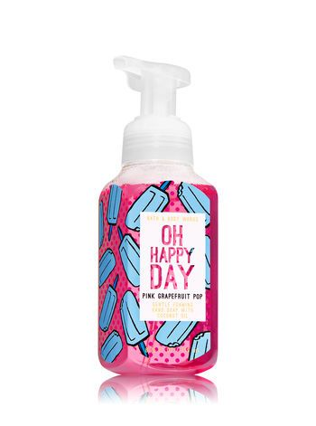 Pink Grapefruit Pop Gentle Foaming Hand Soap Bath And Body Works
