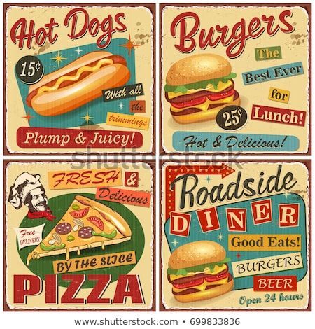 RESTAURANT PLAQUE BAEBECUE BBQ METAL SIGN AMERICAN DINER FAST FOOD CAFE BAR