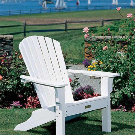 Seaside Casual Shell Adirondack Chairs Mckays Furniture