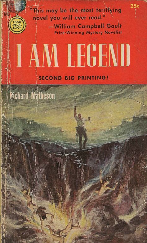 I Am Legend Richard Matheson Art Et Illustration Et Livre