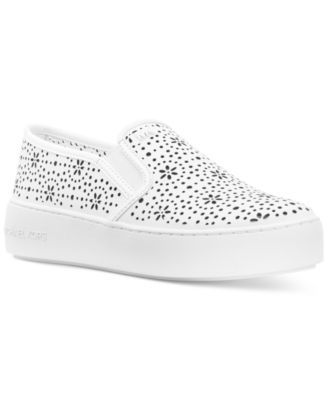 2760b59b5f37a Michael Michael Kors Trent Slip-On Sneakers - White 8.5M