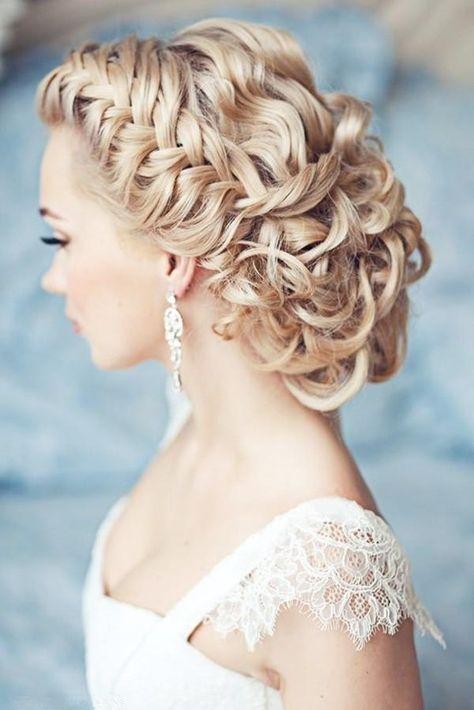 Klassische Und Schöne Vintage Hochzeit Frisuren Heißesten