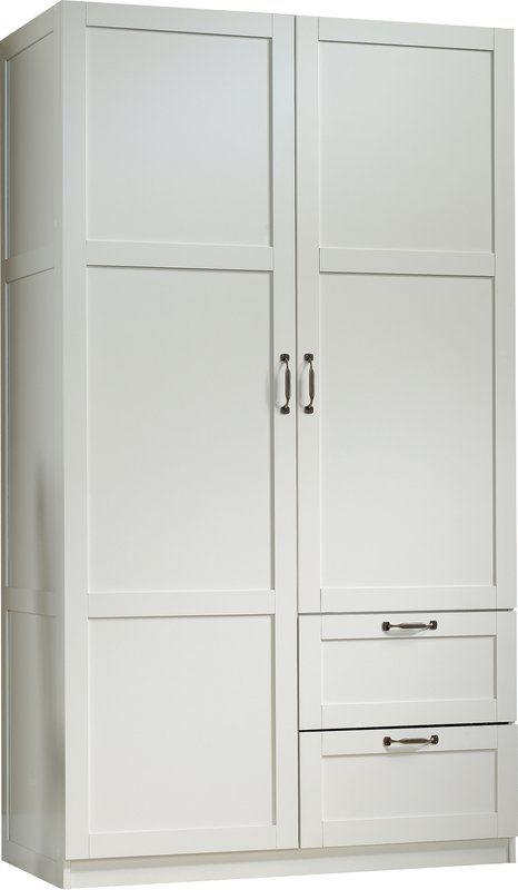 Lee Storage Cabinet Armoire Bedroom Closet Design White