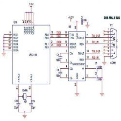 How to interface GSM module (SIM300) to ARM7 (LPC2148