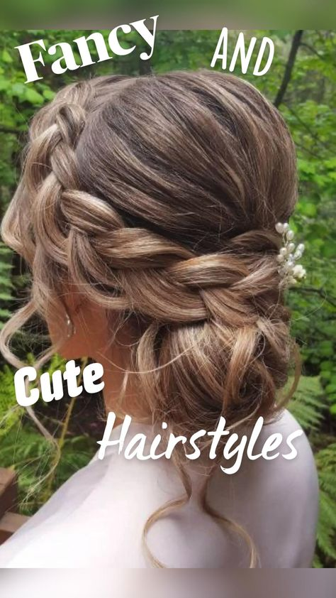Cute and Fancy Hairstyles