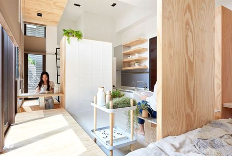 Minimalist Asian Aesthetics And Smart Functionality For Limited Living Space Apartment Interior Design Modern Bedroom Design Apartment Interior