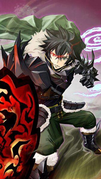 Naofumi Curse Shield The Rising Of The Shield Hero 4k Hd Mobile Smartphone And Pc Desktop Laptop Wallpape Manga Wallpaper Desenho De Anime Desenhos De Anime
