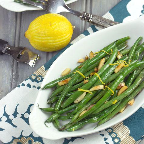 Lemony Green Beans | Cooking on the Front Burner #lemongreenbeans #sidedish