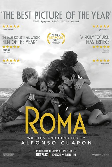 ROMA NETFLIX FILM POSTER A4 A3 A2 A1 LARGE FORMAT CINEMA MOVIE