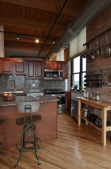 81 best Styles (Lofts) images on Pinterest | Chicago apartment, Chicago  lofts and Exposed brick