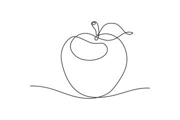 46++ Apple clipart black and white vector info