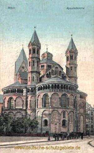 Koln Apostelkirche Kirchen Apostel Konigreich Preussen