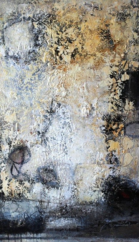 Abstrakte Expressive Experimentelle Malerei Komposition 9 103