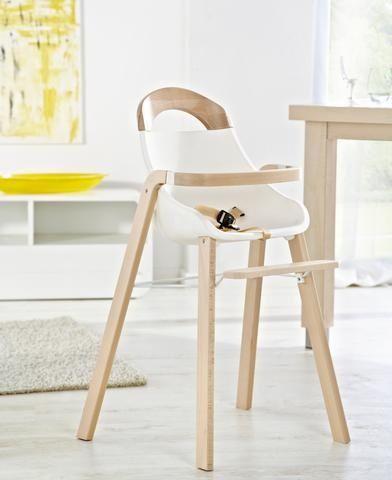 Modern Scandinavian Highchair Natural And White Baby Chair Baby Furniture Cute Desk Chair