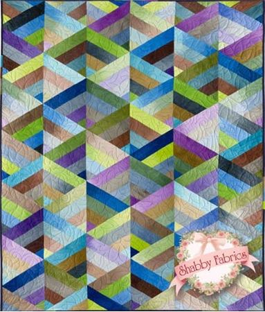 Prism Quilt Kit - Ombre Hand Dyes: This kit includes the pattern ... : pre cut quilt patterns - Adamdwight.com