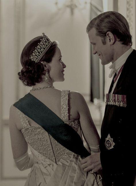 Season 2 of The Crown : Elizabeth and Philip