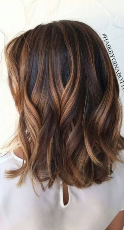 Super Hairstyles For Medium Length Hair Messy Highlights 37 Ideas Hair Hair Color Highlights Hair Color Balayage Brown Hair Balayage