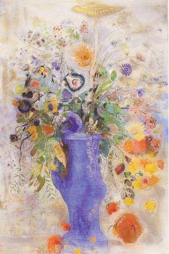 odilon_redon_le grand bouquet_1901