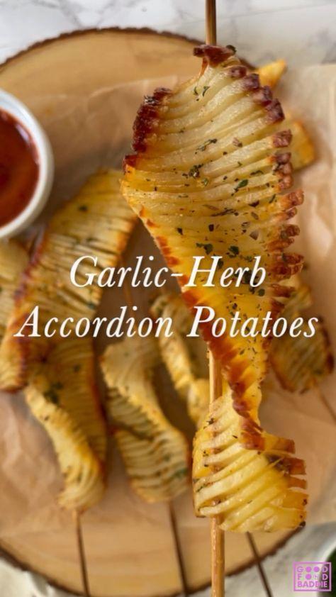 Crispy Accordion Potatoes
