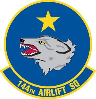 144th Airlift Squadron Wikipedia Air Force Patches Military Insignia Usaf