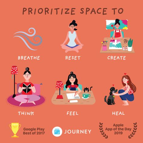 Are you creating your own space for self-care today?