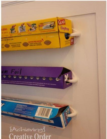 Marvelous Itu0027s A Wrap    Dispenser! This Is Brilliant. Oh. I Love Pinterest For Great  Organizing Ideas...   Kitchen Organization   Pinterest   Wraps, ...