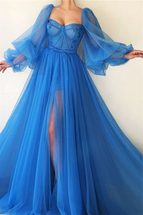 Vestidos Manga Bufante - Top 8