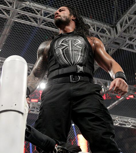 Hell In A Cell 2015 : Pour son 1er Hell In A Cell Match, Roman Reigns a vaincu Bray Wyatt.