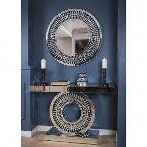Konsola W Meble Do Salonu Allegro Pl Chic Bedroom Decor Gold Bathroom Decor Home Remodeling