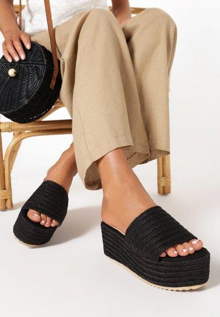 Pin On Papuci Cu Platforma Dama