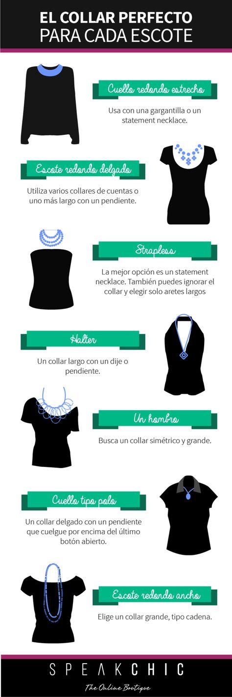El collar perfecto para cada escote   SPEAK CHIC   Accesorios de Marca Originales