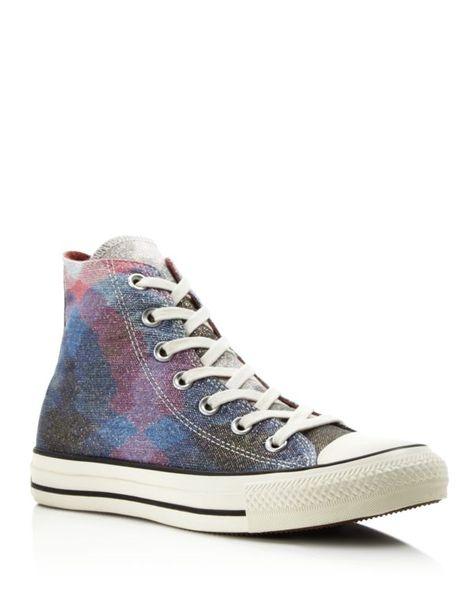 Converse Missoni All Star Glitter High Top Sneakers  08da731d2