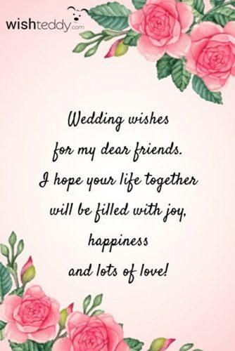 Wedding Congratulations What To Write In A Wedding Card 2021 Wedding Card Messages Wedding Congratulations Card Wedding Wishes Quotes