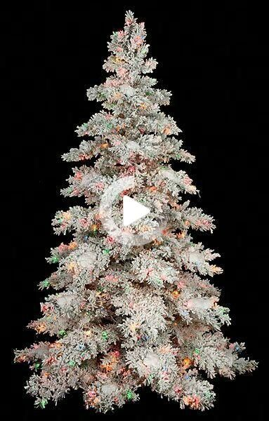 Flicked Christmas Tree Decorations 2021 Peruvian Hair Fashion Color Straight Lace Front Wig In 2021 Flocked Christmas Trees White Flocked Christmas Tree Christmas Tree With Coloured Lights