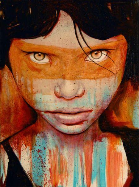 Couleurs en 2020 (avec images) | Portrait peinture, Peinture