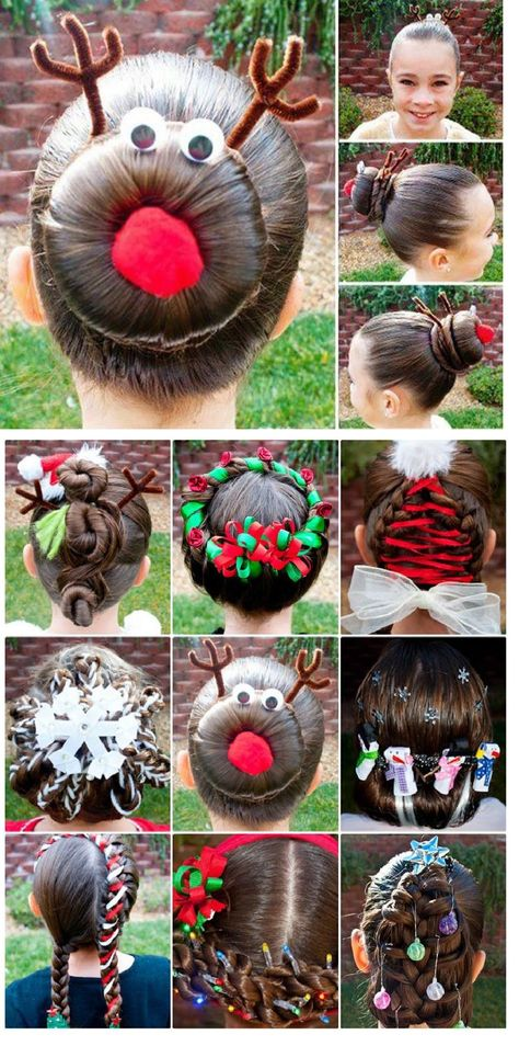 Hairstyles for kids christmas crazy hair 47 ideas for 2019