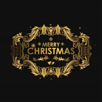 Merry Christmas Luxury Xmas Glitter Winter Png And Vector With Transparent Background For Free Download Christmas Luxury Christmas Labels Merry Christmas
